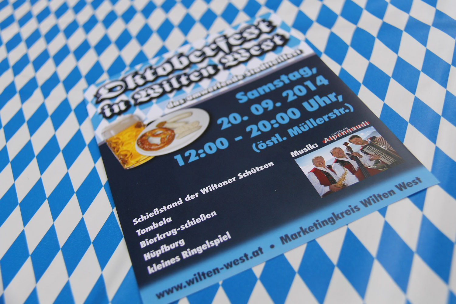 Das Oktoberfest des Marketingkreis Wilten West 2014 - 001