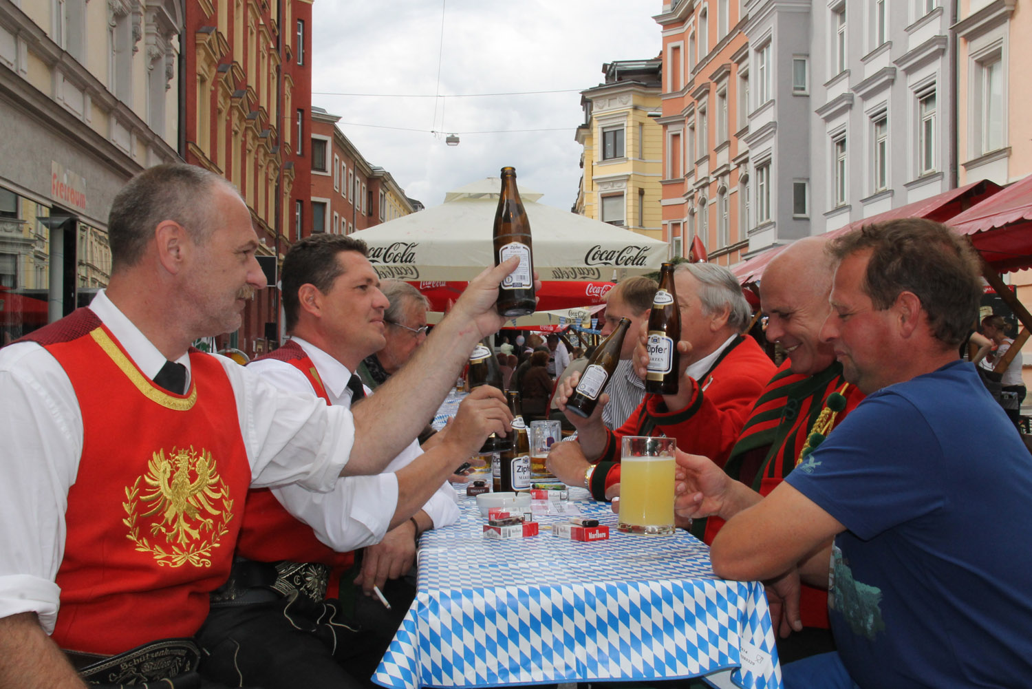 Das Oktoberfest des Marketingkreis Wilten West 2014 - 052