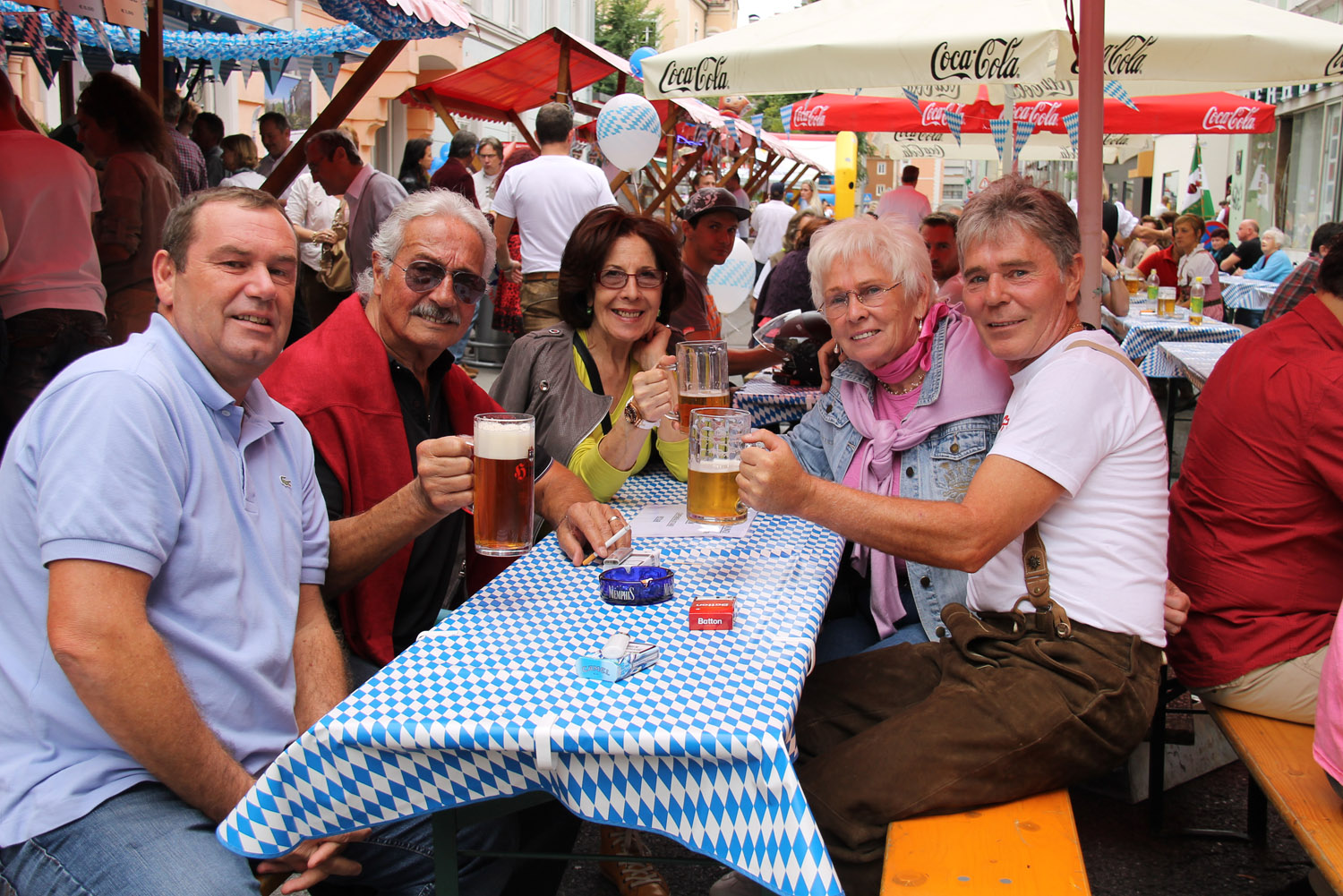 Das Oktoberfest des Marketingkreis Wilten West 2014 - 055