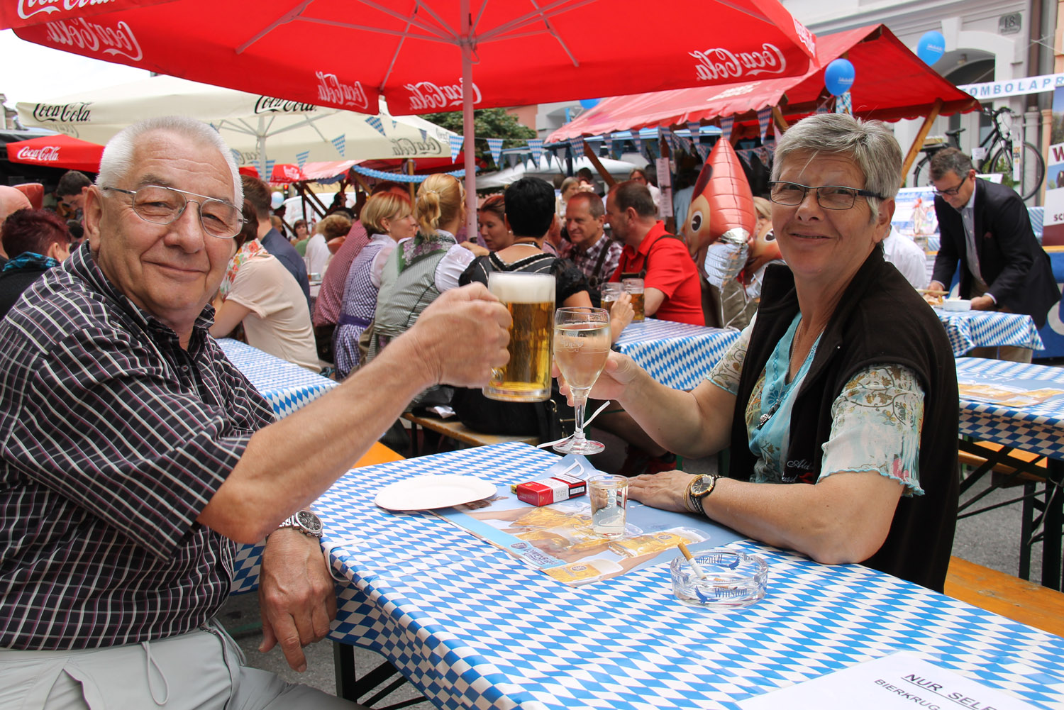 Das Oktoberfest des Marketingkreis Wilten West 2014 - 058