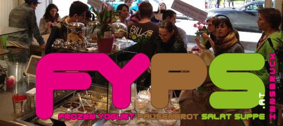 FYPS Innsbruck - Frozen Yogurt, Pausenbrot, Salat und Suppe